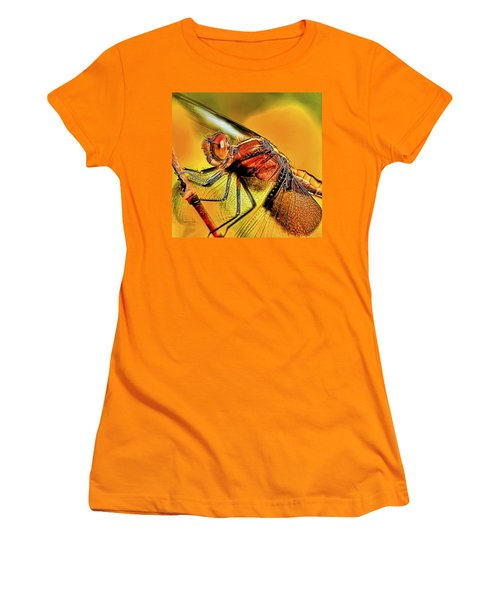 Dragonfly 2 Women's T-Shirt (Junior Cut) by William Horden
