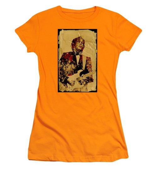 Eric Clapton 2 Women's T-Shirt (Athletic Fit)