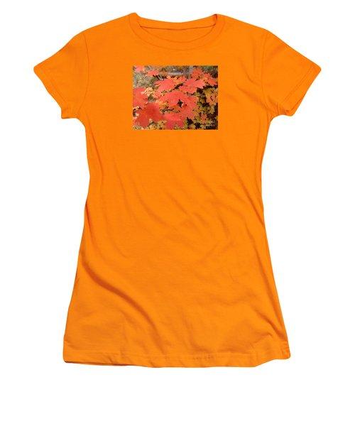 Fall Colors 6308 Women's T-Shirt (Junior Cut) by En-Chuen Soo