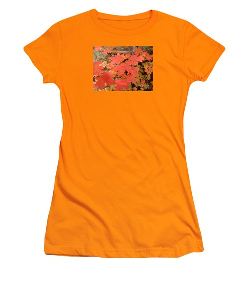 Fall Colors 6308 Women's T-Shirt (Athletic Fit)
