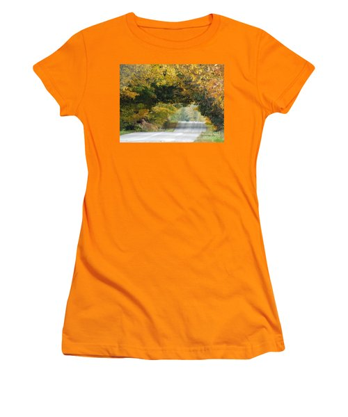 Falls Archway  Women's T-Shirt (Junior Cut) by Brenda Brown