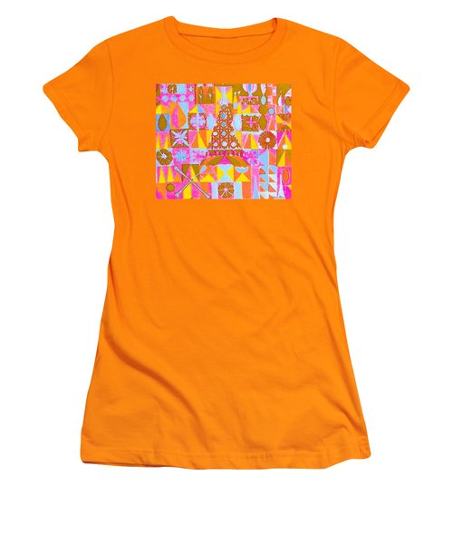 Fantasy In Form Women's T-Shirt (Junior Cut) by Beth Saffer