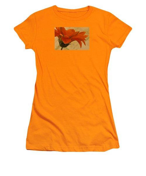 Flaunting Gazani Women's T-Shirt (Junior Cut) by Sandra Foster