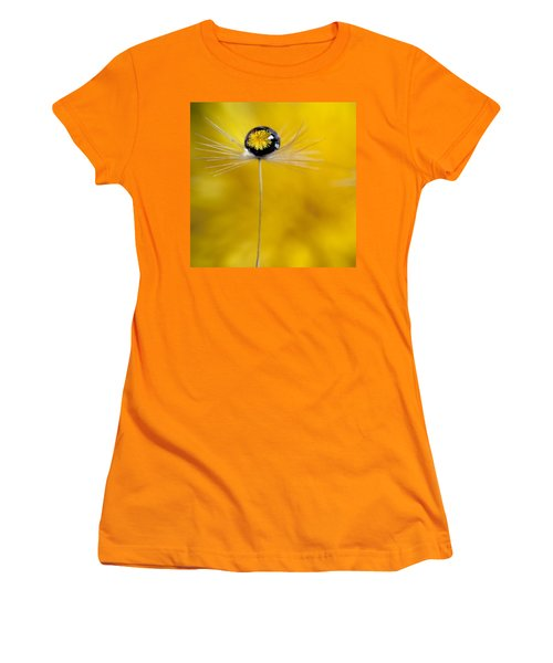 Flower And Seed Women's T-Shirt (Junior Cut) by Aaron Aldrich