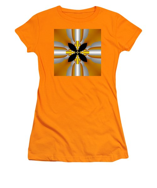 Women's T-Shirt (Junior Cut) featuring the digital art Futuristic by Svetlana Nikolova