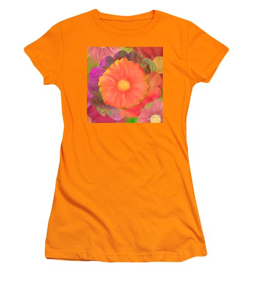 Garden Party IIi Women's T-Shirt (Junior Cut) by Christine Fournier