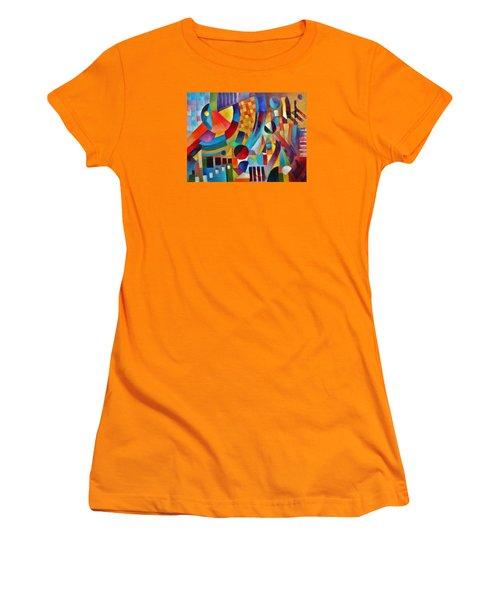 Gateway Women's T-Shirt (Junior Cut) by Jason Williamson