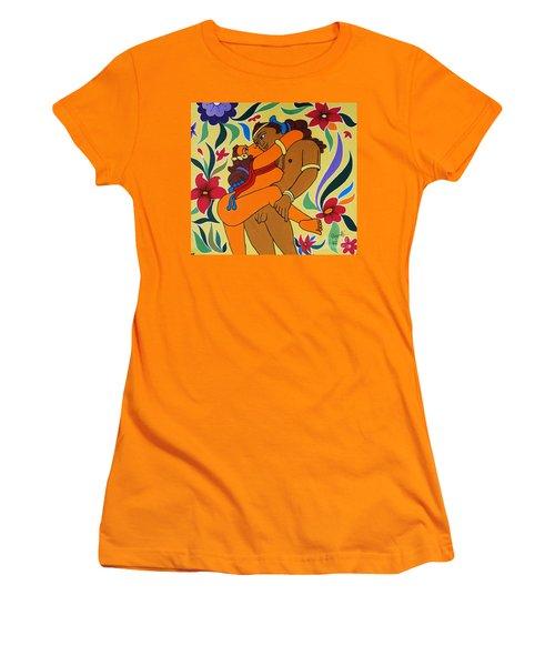 Gateway Of  Haven Women's T-Shirt (Junior Cut) by Ragunath Venkatraman