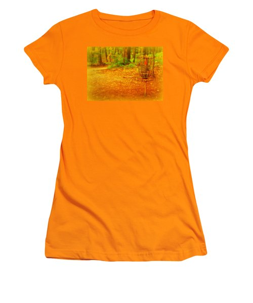 Golden Target Women's T-Shirt (Athletic Fit)