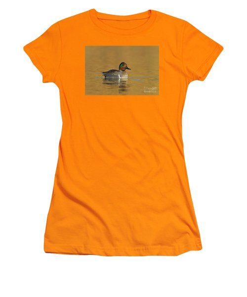 Green Wing Teal Women's T-Shirt (Athletic Fit)