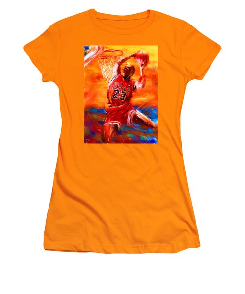 His Airness Women's T-Shirt (Athletic Fit)