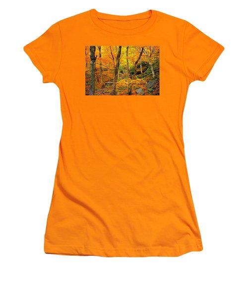 In The Woods Women's T-Shirt (Junior Cut) by Bill Howard
