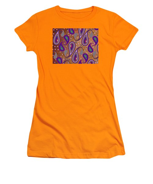 It's Raining Paisley Series 1 Women's T-Shirt (Athletic Fit)