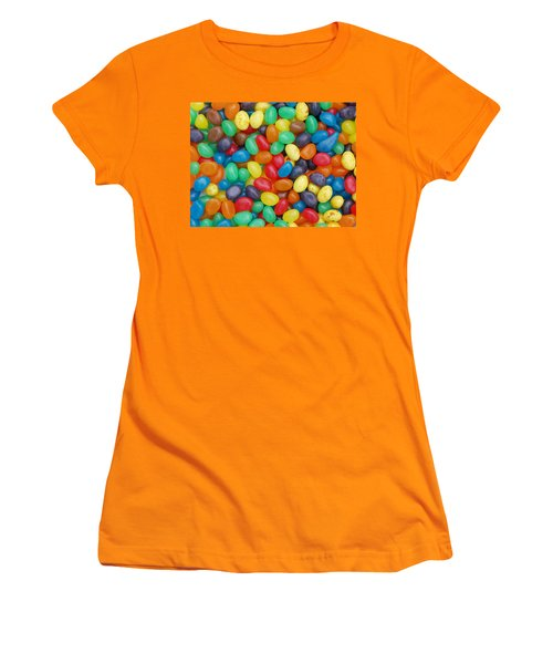 Jelly Beans Women's T-Shirt (Athletic Fit)