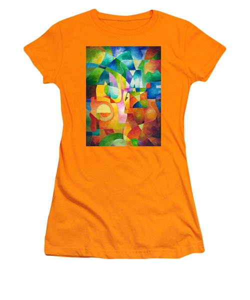 Just Outside Women's T-Shirt (Athletic Fit)