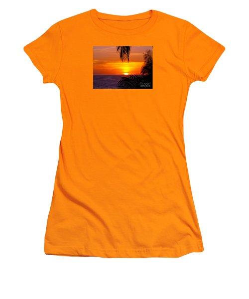 Kauai Sunset Women's T-Shirt (Junior Cut) by Patricia Griffin Brett