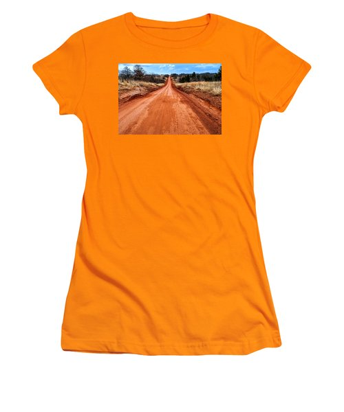 Land Run 100 Women's T-Shirt (Athletic Fit)