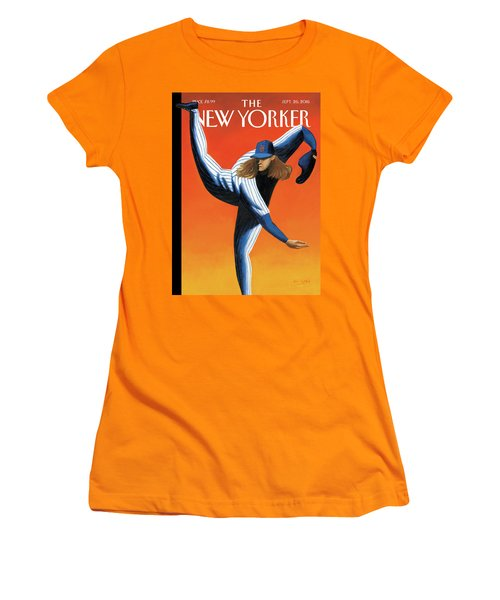 Late Innings Women's T-Shirt (Athletic Fit)