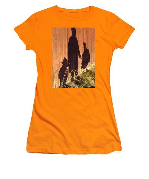 Women's T-Shirt (Junior Cut) featuring the photograph Late Summer Walk by Martin Howard