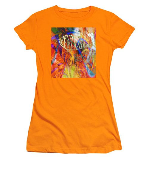 Led Shred Women's T-Shirt (Junior Cut) by Kevin Caudill