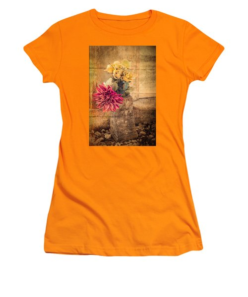 Left For A Loved One Women's T-Shirt (Athletic Fit)