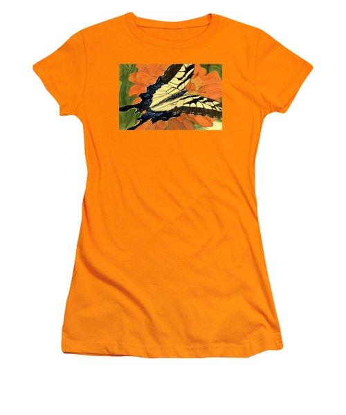 Lepidoptery Women's T-Shirt (Junior Cut) by Joel Deutsch