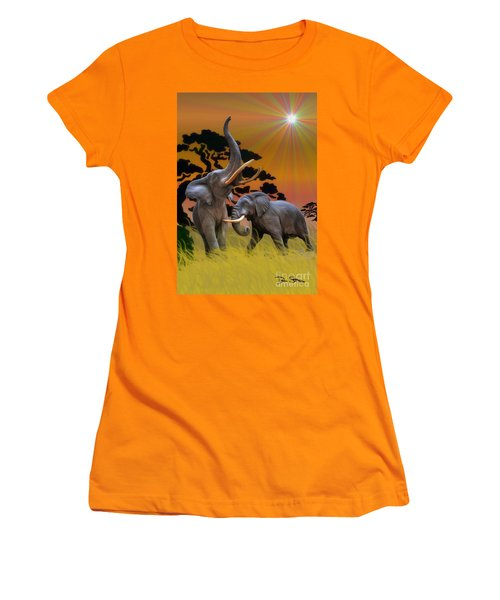 Leviathans Of The Land Women's T-Shirt (Athletic Fit)