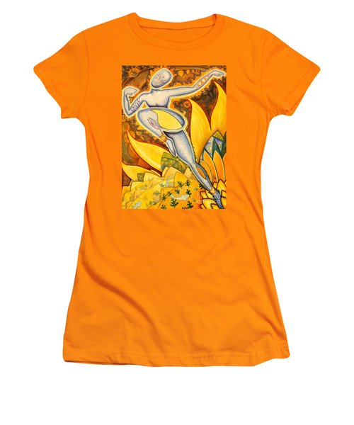 Life Is A Pure Flame Women's T-Shirt (Junior Cut) by Mark Stankiewicz