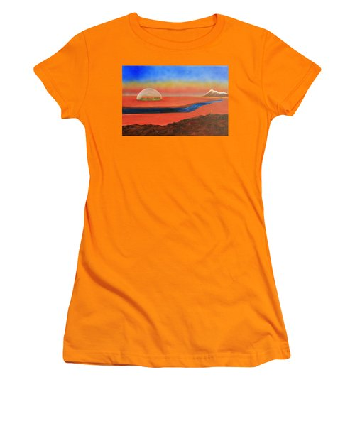 Life Will Find A Way Women's T-Shirt (Junior Cut) by Tim Mullaney