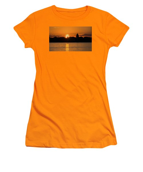 Madison Sunset Women's T-Shirt (Athletic Fit)