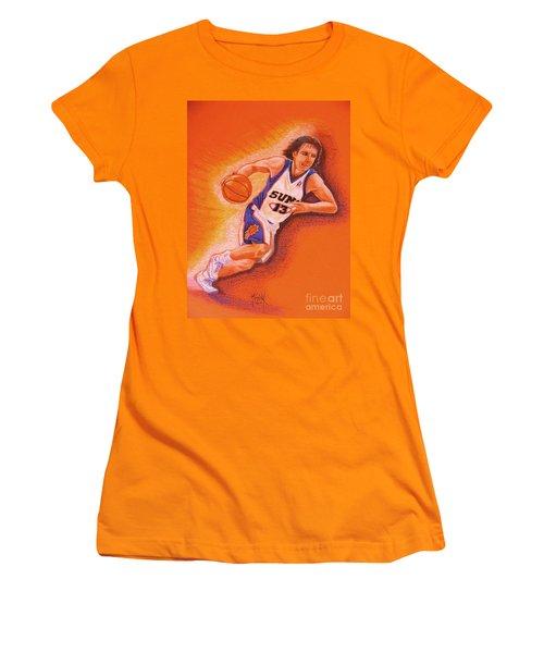 Man On Fire Women's T-Shirt (Junior Cut) by Marilyn Smith