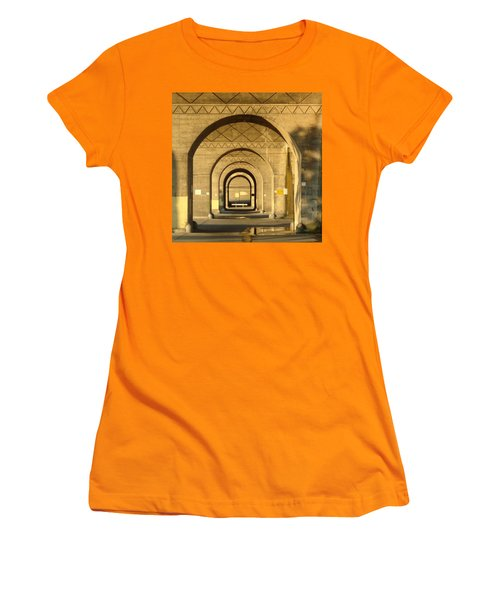 Women's T-Shirt (Junior Cut) featuring the photograph Matryoska by Joseph Skompski