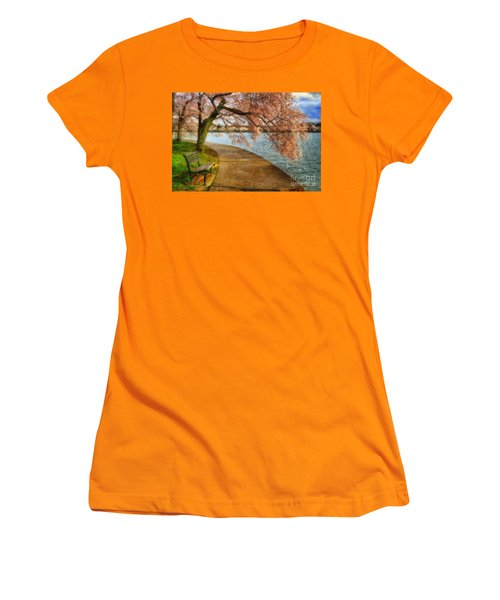 Meet Me At Our Bench Women's T-Shirt (Athletic Fit)