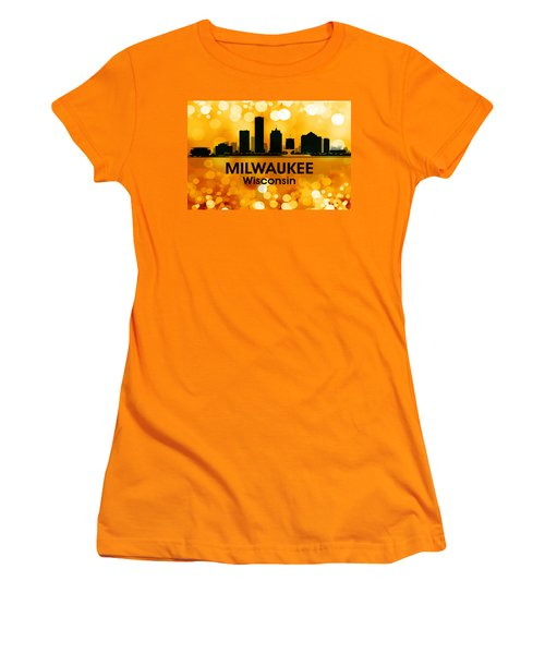 Milwaukee Wi 3 Women's T-Shirt (Athletic Fit)