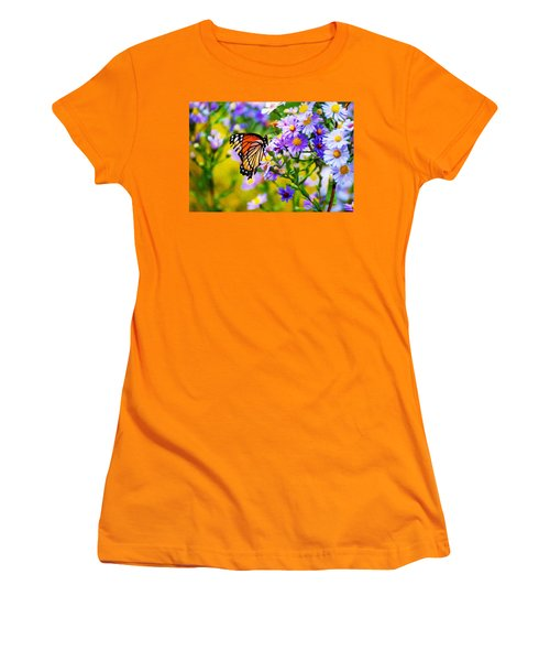Monarch Butterfly 4 Women's T-Shirt (Athletic Fit)