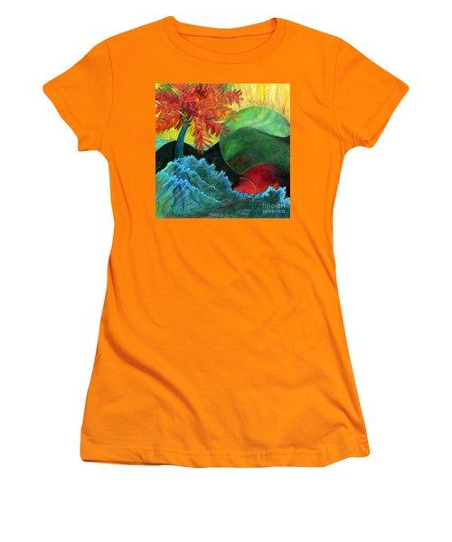 Moonstorm Women's T-Shirt (Athletic Fit)