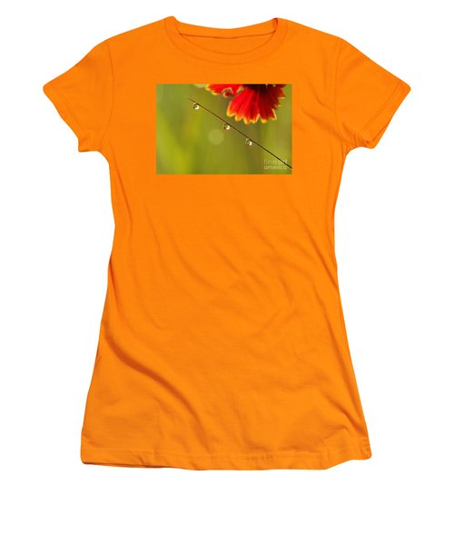 Women's T-Shirt (Junior Cut) featuring the photograph Morning Dew by Patrick Shupert
