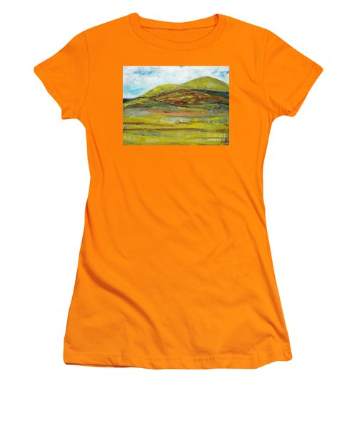 Mountains  Women's T-Shirt (Junior Cut) by Reina Resto