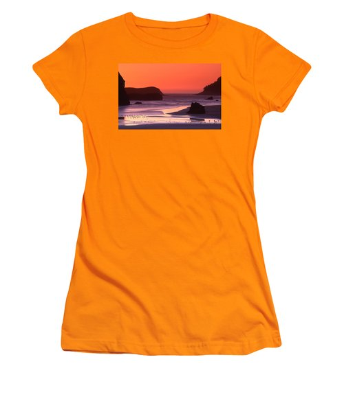 Myers Creek Sunset Women's T-Shirt (Athletic Fit)