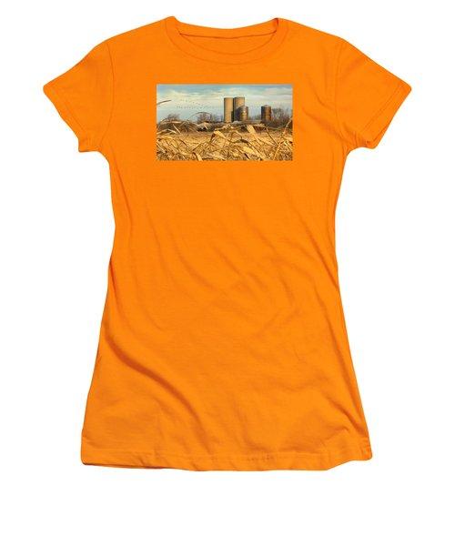 November Winds Women's T-Shirt (Junior Cut) by Doug Kreuger