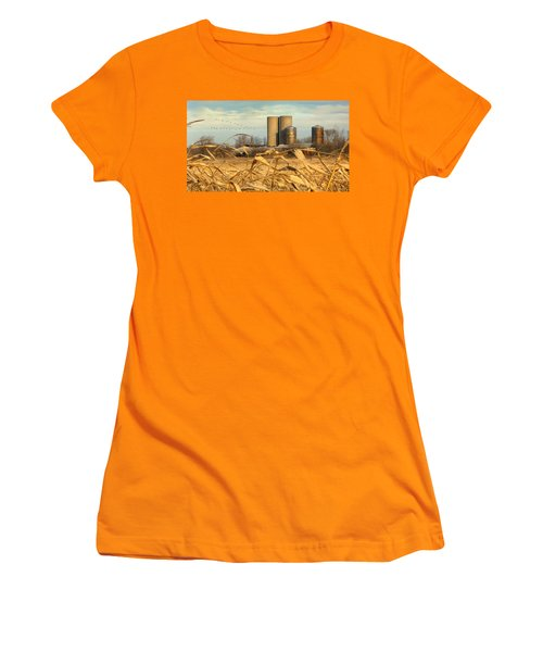 November Winds Women's T-Shirt (Athletic Fit)