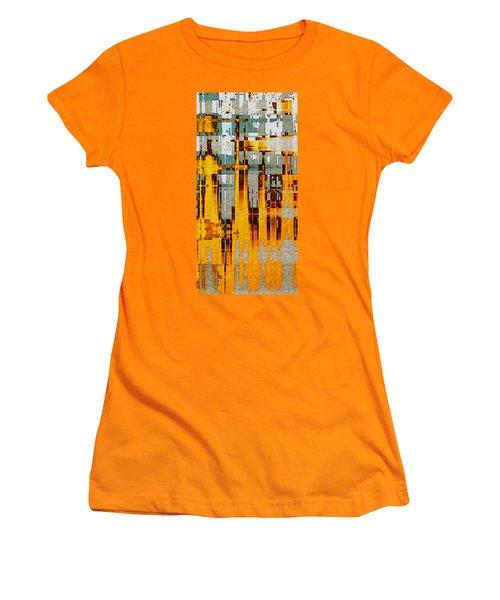 Ochre Urbanity Women's T-Shirt (Junior Cut) by David Hansen