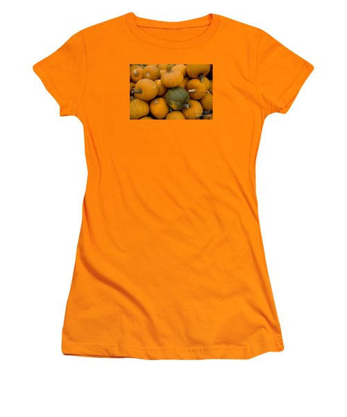 Women's T-Shirt (Junior Cut) featuring the photograph Odd One Out by David Millenheft