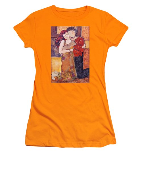 Ode To Klimt Women's T-Shirt (Athletic Fit)