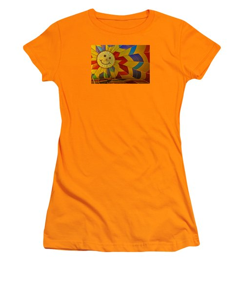 Women's T-Shirt (Junior Cut) featuring the photograph Oh Happy Day by Mike Martin
