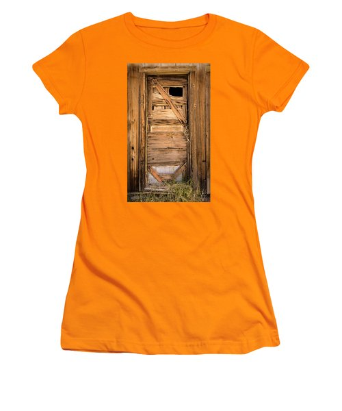 Old Door Women's T-Shirt (Athletic Fit)