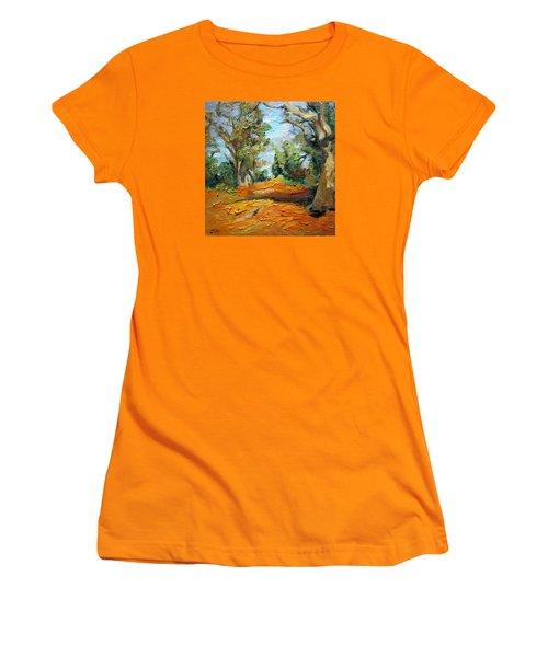 On The Forest Women's T-Shirt (Junior Cut)