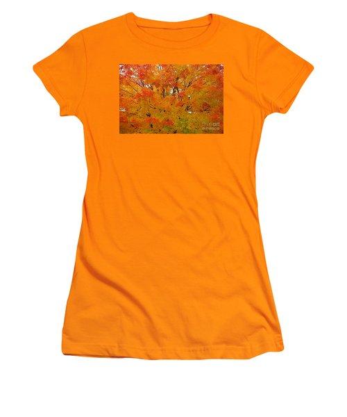 Women's T-Shirt (Junior Cut) featuring the photograph Orange Crush by Robert Pearson