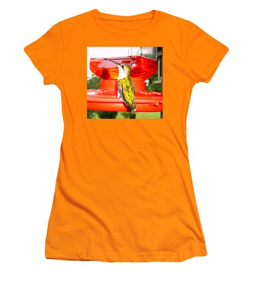 Women's T-Shirt (Junior Cut) featuring the photograph Perfect Pose by Nick Kirby