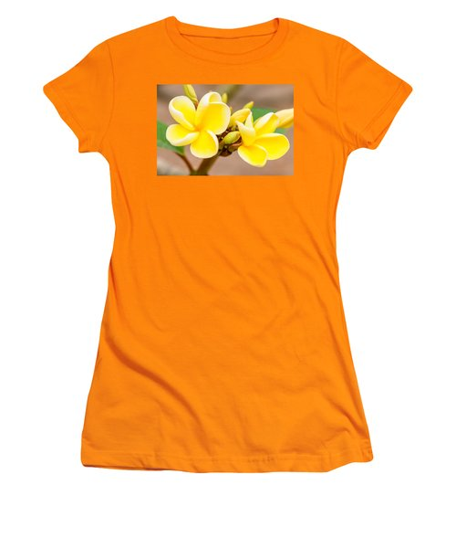 Plumerias Of Paradise 14 Women's T-Shirt (Athletic Fit)